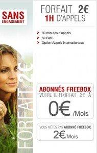 Offre Free Mobile 2 euros